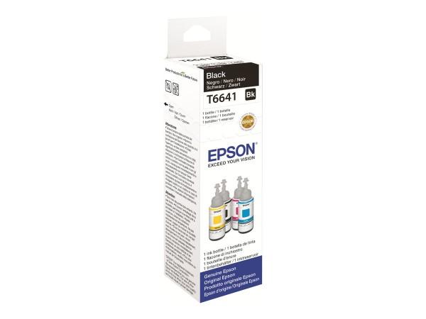 EPSON Tinte T6641 Tinte schwarz 70ml 1er-Pack
