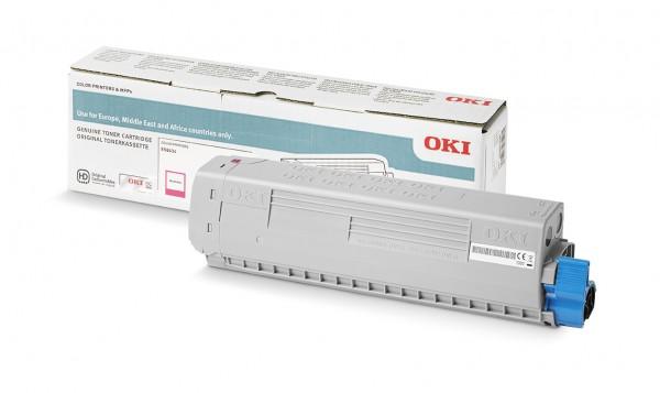 OKI 46861326 Original Toner Magenta für 10.000 Seiten OKI ES8434DN
