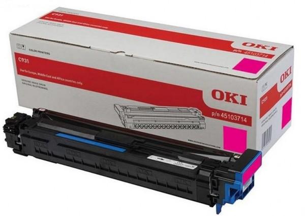 OKI Bildtrommel Magenta C911DN C931DN Rot 45103713 Original