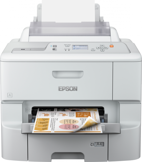 EPSON WorkForce Pro WF-6090D2TWC, Frontansicht