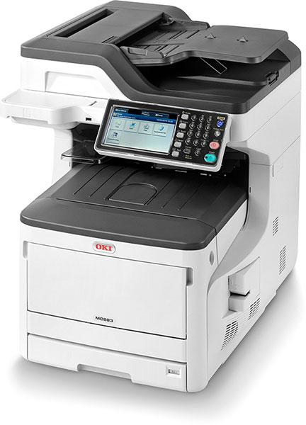 OKI MC833dn Multifunktionsdrucker Farbe A3 45850304