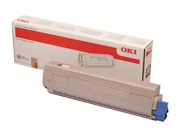 OKI MC853 MC873 Original Toner Schwarz 45862840