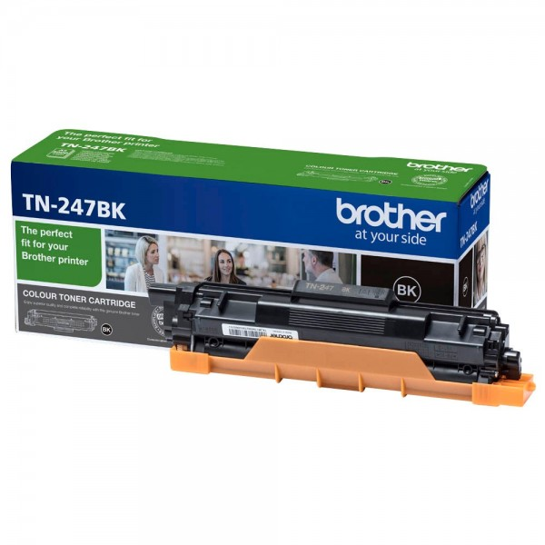 Brother Toner TN-247BK TN247BK Original Schwarz