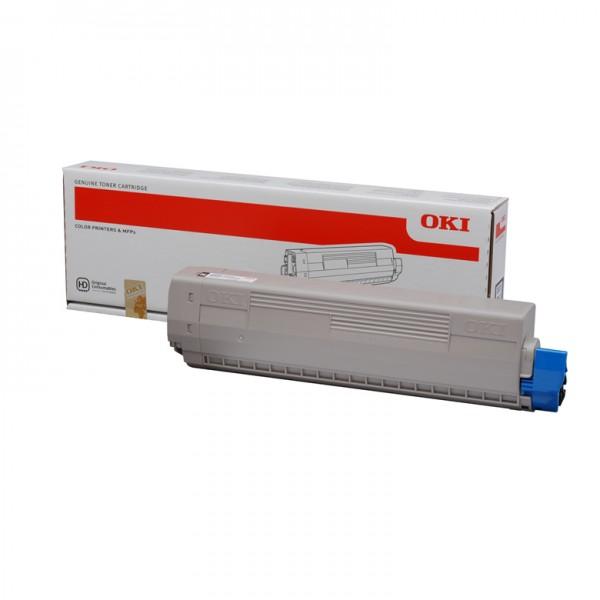 46490605 OKI Toner Cyan C532 MC573 MC563 C542 PrinterPoint24