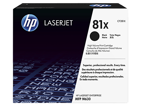 CF281X HP 81X Toner Black