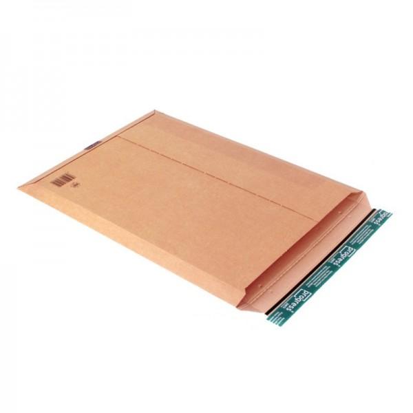 Versandtasche aus Wellpappe 585 x 434 mm VPE 50 Stück