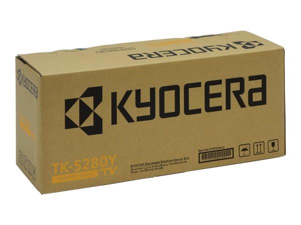Kyocera TK-5280Y Toner-Kit gelb 11.000 Seiten 1T02TWANL0