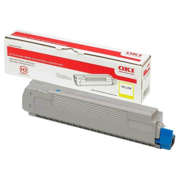 46490401 OKI Toner Gelb C532 MC573 MC563 C542