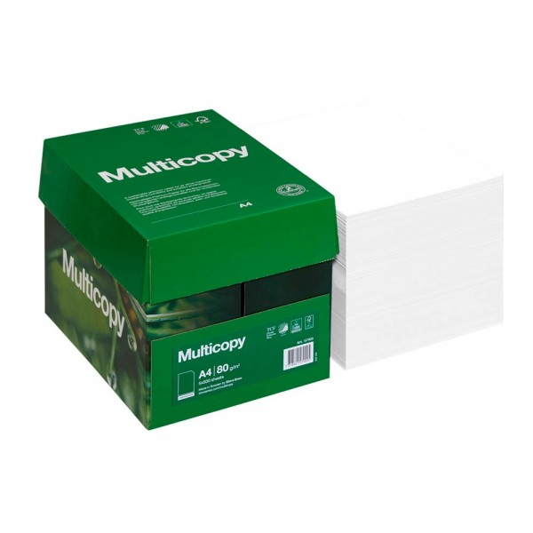 Multicopy Kopierpapier ORIGINAL DIN A4 80 g qm 2.500 Blatt Maxi-Box