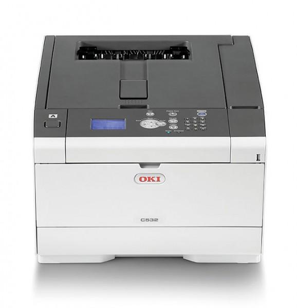 OKI C532dn color Drucker A4 duplex netzwerk