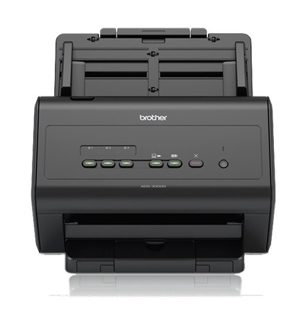 Brother ADS-3000N Netzwerkscanner mit Professionellem Software-Bundle