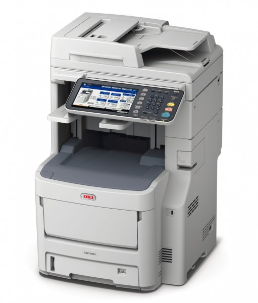 OKI MC780dnfax Top Color A4 Drucker Kopierer
