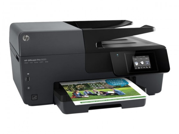 HP Officejet Pro 6830 e-All-in-One - Multifunktionsdrucker - Farbe - Tintenstrahl