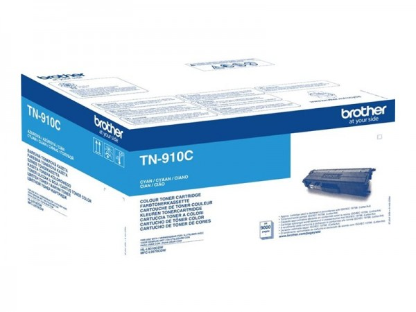 Brother TN-910C Ultra Jumbo Cyan Original