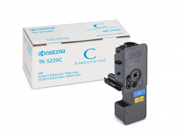 TK-5220C Cyan Kyocera Original Toner
