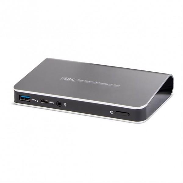 TERRA Dockingstation USB-C mit Dual Display-Unterstützung