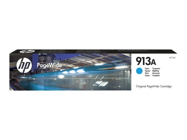 HP 913A cyan Original-PageWide-Patrone F6T77AE