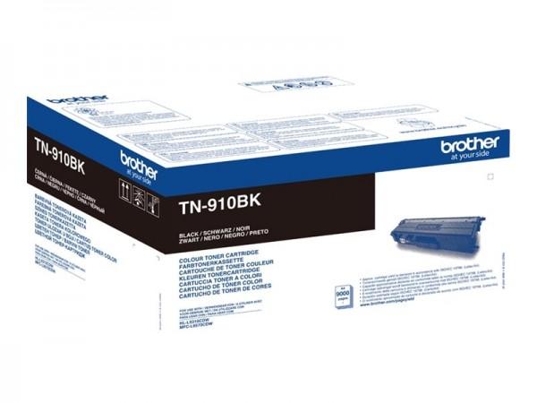 BROTHER TN-910BK Original Tonerkassette Schwarz