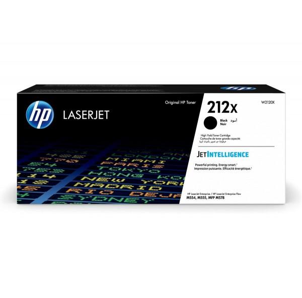 HP 212X Toner Black W2120X 13.000 Seiten Color LaserJet Enterprise M554dn M555dn M555x