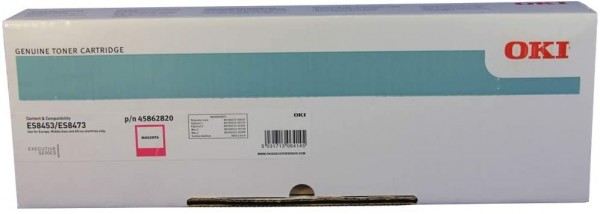 OKI Toner Magenta für 10.000 Seiten ES8453 MFP ES8473dn 45862820