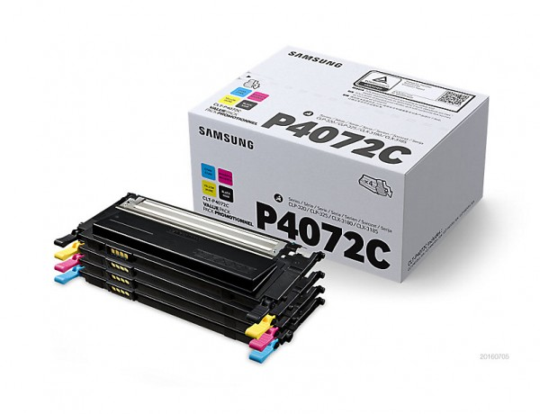 Samsung CLT-P4072C Toner Rainbow Kit PrinterPoint24