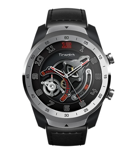 Mobvoi TicWatch Pro 2020 smartwatch AMOLED 3.53 cm Black-Silver GPS P1031005400A