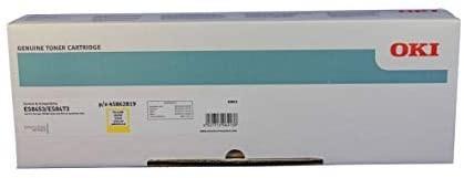 OKI Toner Gelb für 10.000 Seiten ES8453 MFP ES8473dn 45862819