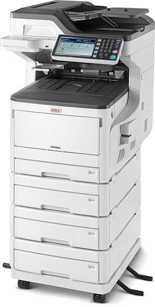 OKI MC833dnv Multifunktionsdrucker Farbe A3 09006109