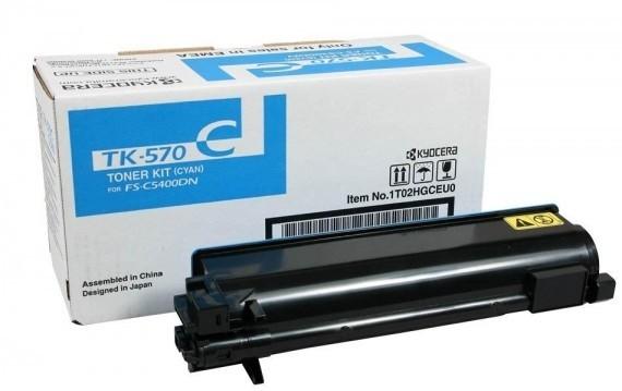 KYOCERA TK-570C Toner Cyan P7035cdn C5400dn
