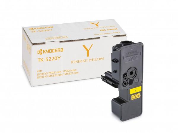 TK-5220Y Gelb Kyocera Original Toner