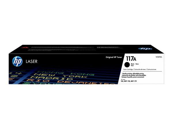 HP 117A Toner black W2070A für Laser 150 MFP178 MFP179
