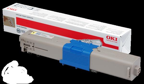 46508709 OKI Toner C332 MC363 Original Gelb 3000 Seiten