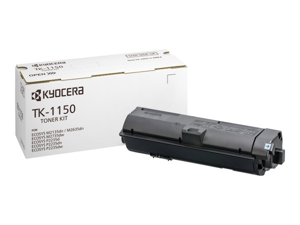 KYOCERA TK-1150 Toner schwarz für 3.000 Seiten