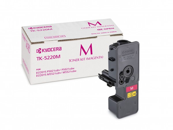 TK-5220M Magenta Kyocera Original Toner