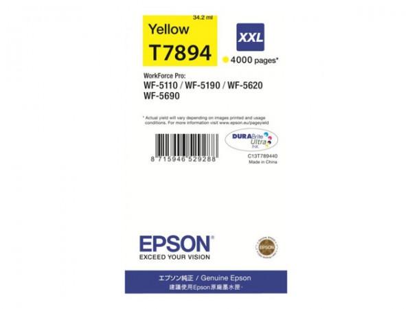 EPSON C13T789440 Original Tinte gelb XXL
