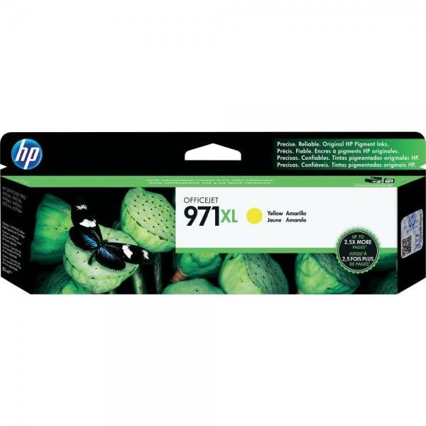 HP 971XL Original Tinte Gelb HP Officejet Pro X451dn, X451dw, X476dn MFP, X476dw MFP, X551dw, X576dw MFP