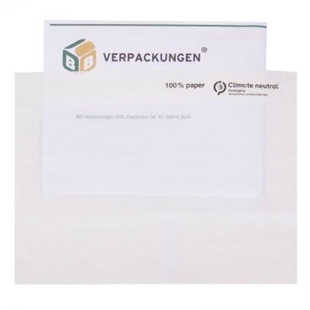 Papier-Lieferscheintaschen DIN C6 VPE 1000 (neutral)