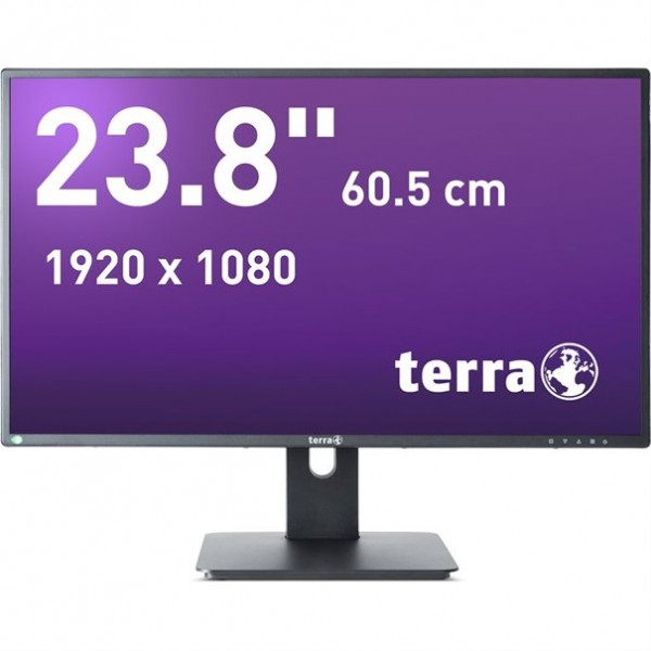 TERRA LED 2456W PV schwarz DP, HDMI GREENLINE PLUS 23,8