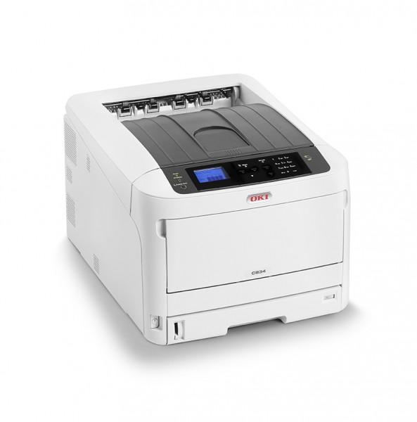 OKI C834nw A3 Farbdrucker für professionelle Druckqualität 47074214