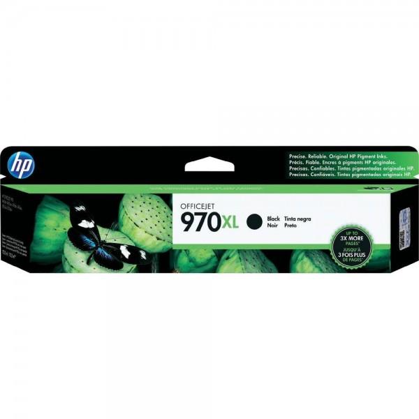 HP 970XL Original Tinte Schwarz HP Officejet Pro X451dn, X451dw, X476dn MFP, X476dw MFP, X551dw, X576dw MFP