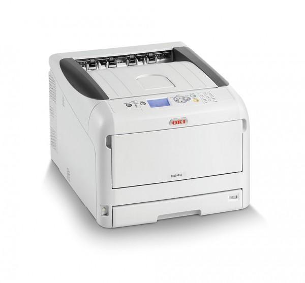 OKI C843dn Color Drucker A3 46468704