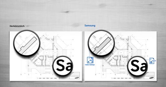 Samsung-Druckergebnis