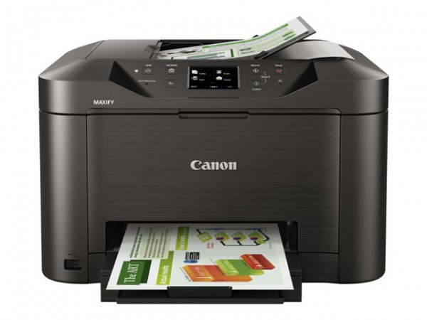 CANON MAXIFY MB5050 Black A4 MFP Color Inkjet Scan