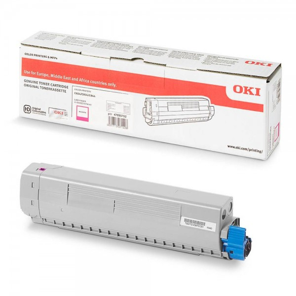 47095702 OKI Toner magenta für C824dn C824n C834dnw C834nw C844dnw