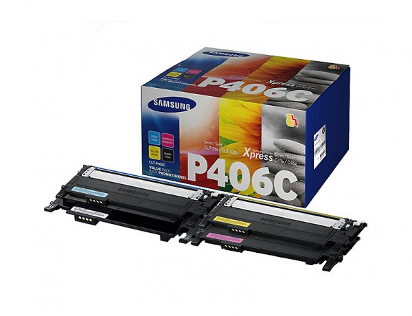 Samsung CLT-P406C Toner Rainbow Kit PrinterPoint24 Cashback